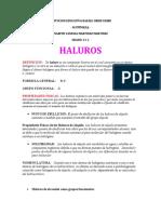 guia haluros
