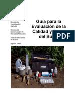 guía para la evaluación de suelos