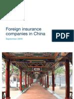 China Insurance PWC