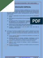 EDUCAÇÃO ESPECIAL - SIMULADO 2011
