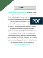 Excel Training eBook