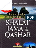 Tuntunan Shalat Jama' & Qashar