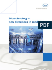 Biotechnology New Ways in Medicine