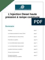Le moteur Diesel - La injection a rampe commune - Moteur Hdi - 27 pp - Français