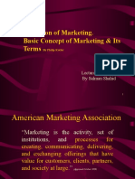 Topic 1 Marketing