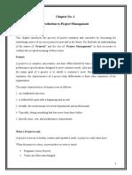 Final Project Masnagment Report