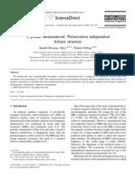 Polarization Independent Fishnet