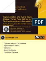 2008 Int ANSYS Conf Implementation Hybrid Navier Stokes