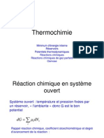 Thermochimie