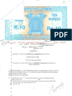 Jagan Reddy's Election Affidavit for the year 2009