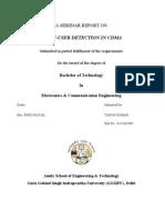 21444658 Multi User Detection in Cdma Project Report