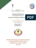 Budget & Budgetary Control 2