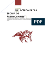 Analisis de La Teoria de Restricciones