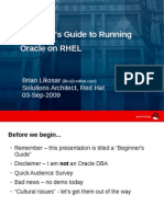Oracle Redhat