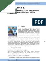 E Pendekatan Metodologi Dan Program Kerja1
