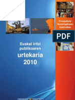 Euskal Iritzi Publikoa 2010