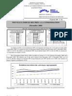 Indices des prix à la consommation - Décembre 2008 (INSTAT - 2008)