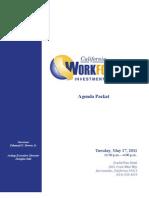 051711 California Workforce Investment Board Agenda