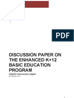 Advantages and Disadvantages of k+12 (1) | Sharing | Quality