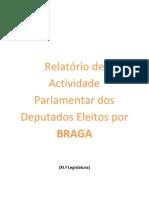Rel. Activid. parlamentar Deputados PSD(Braga)-versão res.