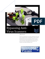 Bypassing Anti-Virus Scanners