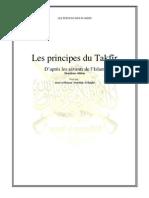 Les principes du takfir - Deuxième édition
