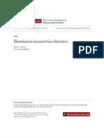 Illumination Invariant Face Detection