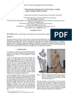 3d Modeling of the Statue With a Coded Structured Light