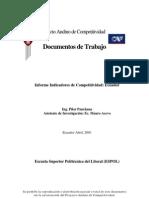Indicators Ecuador