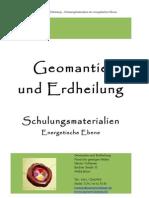 Martin Voltersen - Geomantie Und Erdheilung - Schulungsmaterialien Der Energetischen Ebene