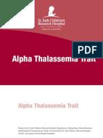 Alpha Thal Trait