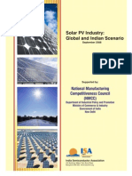 47058480 Solar PV Industry Global and Indian Scenario[1]