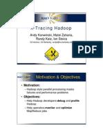 Andy Konwinski X-tracing Hadoop