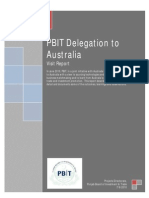 Australia Visit Report