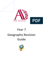 Year 7 Revision Guide