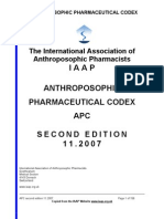 Codex Anthroposophical Pharmacy