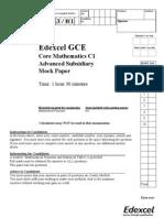 C1 QP mock