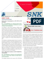 SNK Newsletter- February 2011