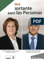 Elecciones 2011 PSOE Lagartera Programa
