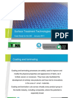 Case Study - Surface Technologies Course Notes 2010