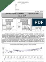 Indices des prix à la consommation - Février 2007 (INSTAT - 2007)