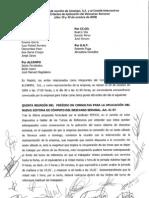Acuerdo descanso  semanal 29-30Oct 2009