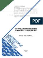 CONTROLE MICROBIOLÓGICO DE PESCADO FRIGORIFICADO