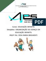 O TEMPO E OS ESPAÇOS NA ROTINA (apostila).