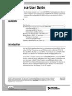 FPGA Interface User Guid