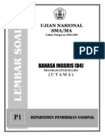 Soal-Ujian-Nasional-2004-2005-SMA-IPA-IPS-Bhs Inggris-P1