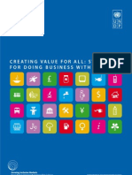UNDP (2008) - Creating Value for All – Strategies for Doing Business with the Poor