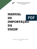 Manual Importação