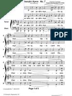Cherubic Hymn Bort No7