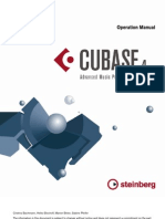 Steinberg Cubase 4 - Operation Manual